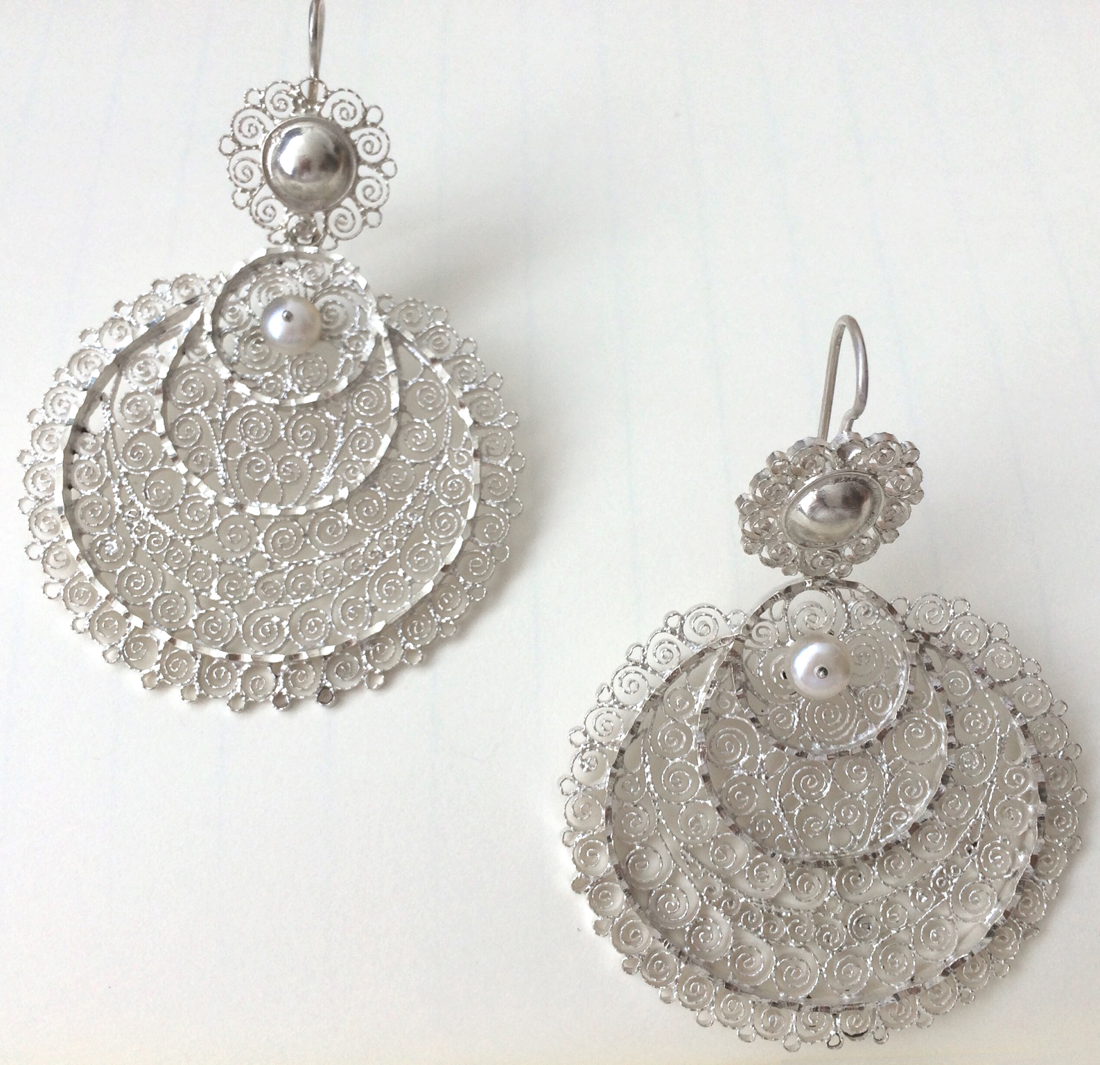 sterling wedding nomad large silver filigree mexican l earrings beautiful
